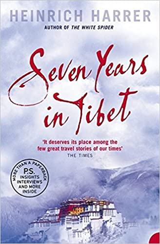 seven years in tibet best trekking books
