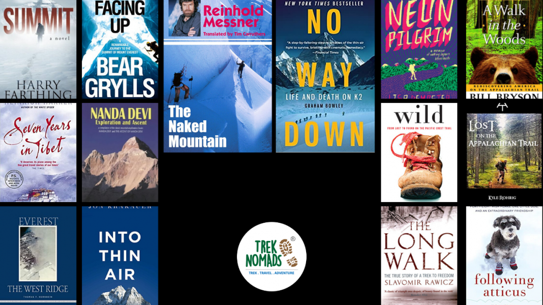 best trekking and mountaineering books